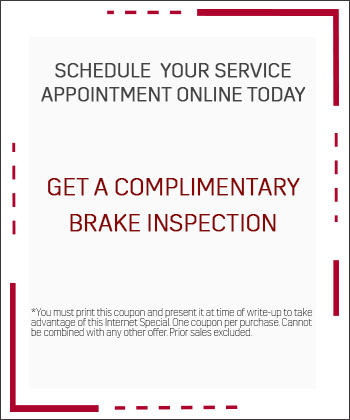 Complimentary Brake Inspection